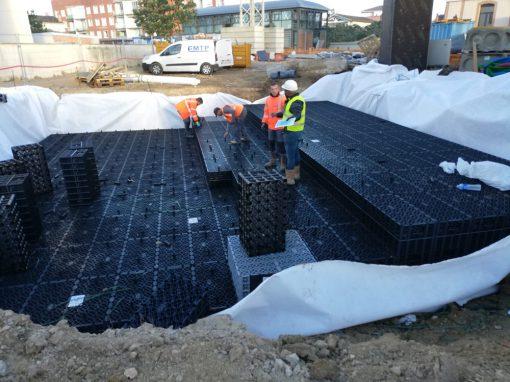 Création d'un bassin de rétention, Montauban (82)