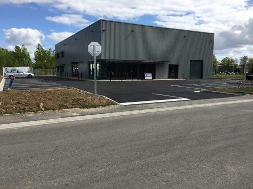Terrassement et VRD pour bâtiment industriel, Montauban (82)